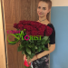 We delivered 101 roses to Samara