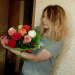 Multicolored roses delivered to Arkhangelsk