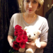 Roses and teddy-bear delivery to Tomsk