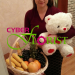 Fruit Basket & teddy bear delivered to Khabarovsk
