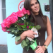Pink roses delivery to Moscow
