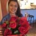 Beautiful bouquet of roses delivered to Irkutsk