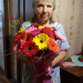 Multicolored gerberas delivery to Kostroma