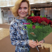Delivered beautiful roses to Moscow