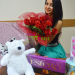 Flower and soft toy delivery to Kremenchug