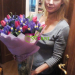 Bouquets of tulips and irises - delivery to Moscow