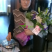 Cake and bouquet of lilies delivered to Belovo
