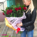 Red roses delivery to Krasnodar