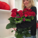 delivery of scarlet roses to Melitopol