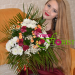 bouquet of flowers was delivered to Mariupol