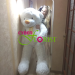 We delivered this cute teddy bear to Nikolaev
