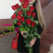 Flower delivery to Mariupol, Ukraine
