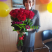 We delivered fresh roses to Chelyabinsk