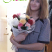 Multicolored roses delivered to Kemerovo