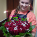 Delivered heart-shaped arrangement to Severodvinsk
