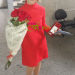 Red roses delivery to Novosibirsk, Russia