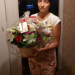 Flower basket delivery to Moscow, Russia