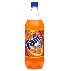 Fanta carbonated water