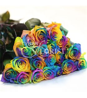 Rainbow roses for Where to buy rainbow roses